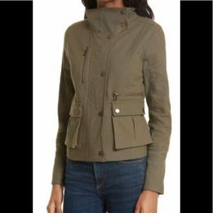 Veronica Beard Everglade Linen-Blend Jacket